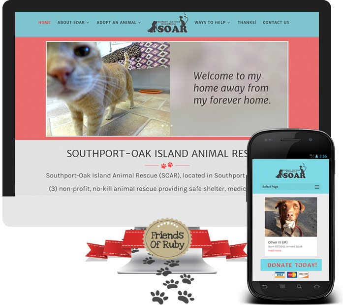 Friends of Ruby Winner - Southport Oak Island Animal Rescue