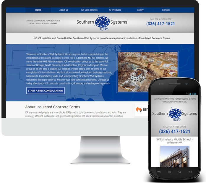 Construction Company Website