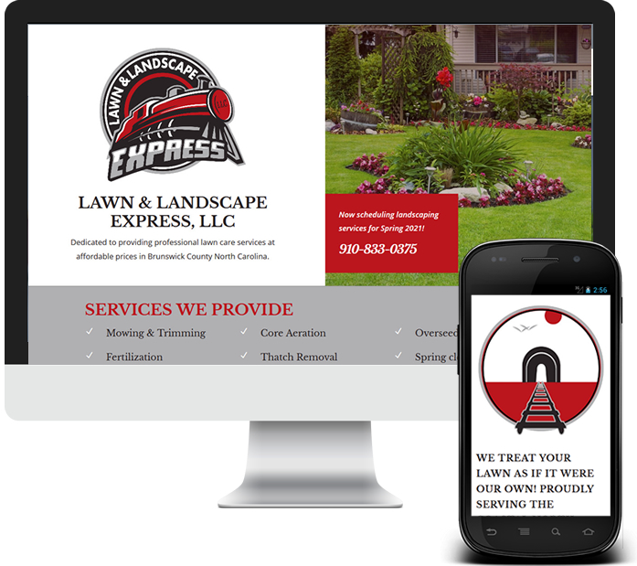 Landscaper Business Website